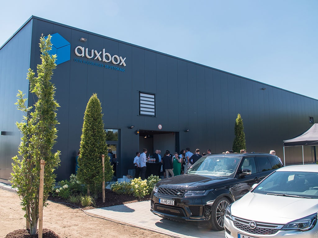 auxbox Eröffnungsfeier